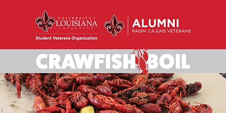 UL Lafayette Student/Alumni Veteran Crawfish Boil tickets