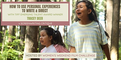 How to use personal experiences to write and direct with TIFF award winner tickets