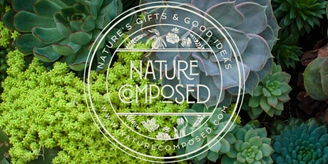 Nature Composed Succulent  and Succulent Frame Workshop tickets