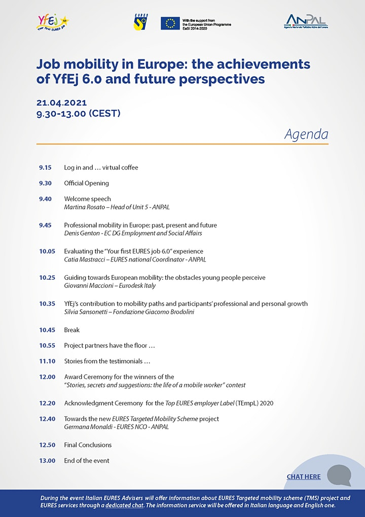 Job mobility in Europe: the achievements of YfEj 6.0 and future perspective image