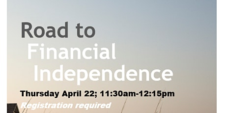 Road to Financial Independence tickets