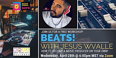 Beats! Music Production with Jesus Wvalle! tickets