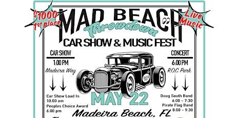 Mad Beach Throwdown - Car Show tickets
