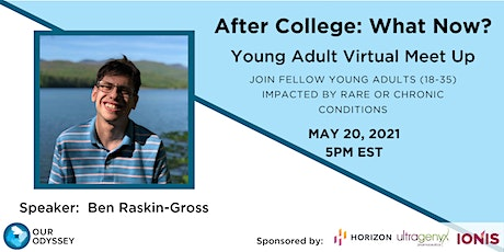 Rescheduled - After College: What Now? Young Adult Virtual Meet Up tickets