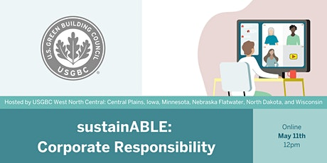 sustainABLE: Corporate Responsibility tickets