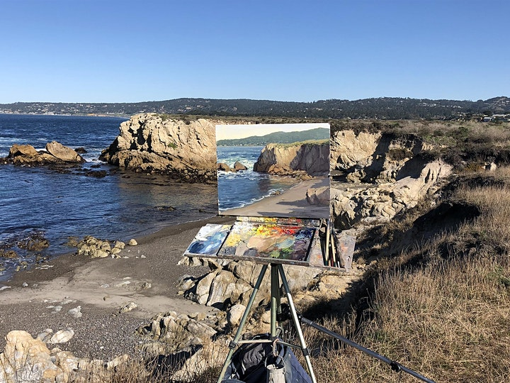 PAWA Presents - 3-day LIVE PLEIN AIR WORKSHOP with Kathleen Dunphy! 2021 image