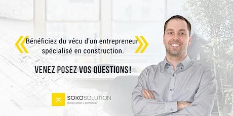 Q&R Live - Planification et exécution d'un projet de construction billets