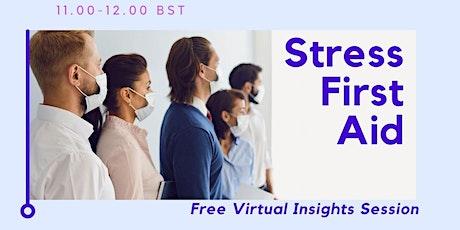 Stress First Aid tickets