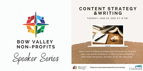 Bow Valley Non-Profits Speaker Series - Content Strategy & Writing tickets