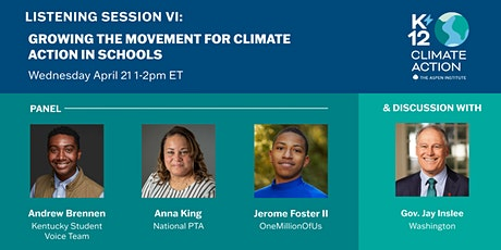 K12 Climate Action Session VI: The Movement for Climate Action in Schools tickets