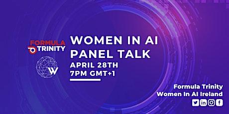 Women in AI meets Formula Trinity tickets