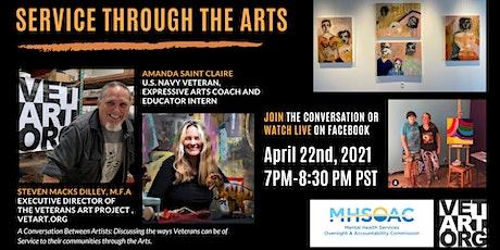 Service Through the Arts: Artists' Conversation tickets
