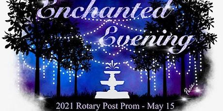 Rotary Post Prom VIP Seats 2021 tickets