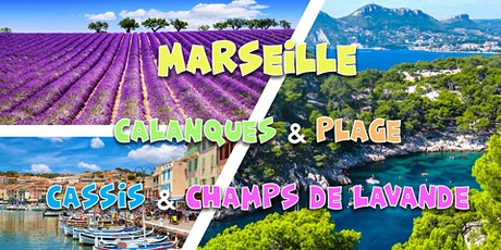 Summer weekend Marseille, Calanques, Champs Lavande, Plage - 3 JOURS tickets