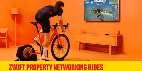 Zwift Cycling Property Networking Ride tickets