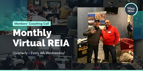 Members Only Virtual REIA: Learn About Real Estate Investing! tickets