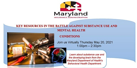 Key Resources  Against Substance Use and Mental Health Conditions tickets