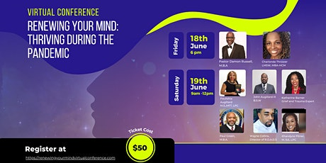 Renewing Your Mind Virtual Conference: Thriving during the pandemic tickets