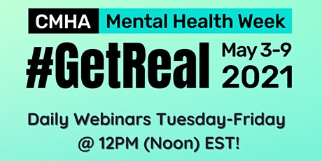 CMHA Mental Health Week 2021: Understanding Our Youth Mental Health System tickets