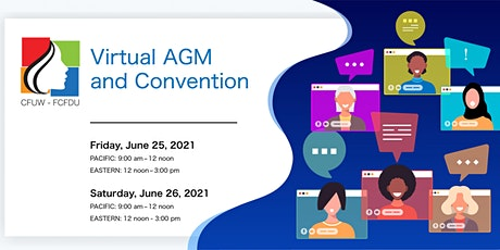 CFUW Virtual AGM and Convention tickets