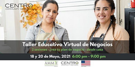 Taller Educativo Virtual de Negocios. entradas