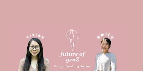 Public Speaking Webinar tickets