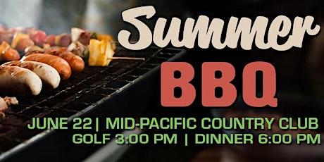 CMAA Aloha | Summer BBQ tickets