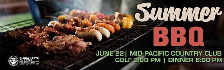 CMAA Aloha | Summer BBQ image