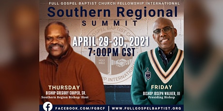 Southern Regional Summit 2021-Pre-Recording tickets