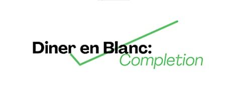Dîner En Blanc; Completion tickets