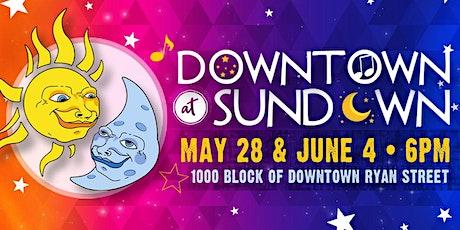 Downtown at Sundown tickets