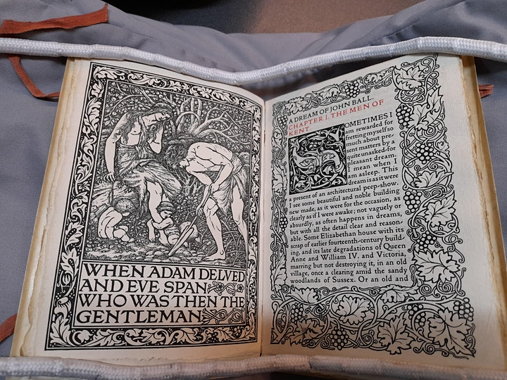 William Morris and the Kelmscott Press image