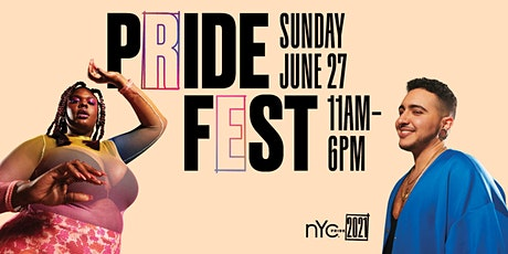 NYC Pride | 2021 PrideFest Exhibitor Registration tickets