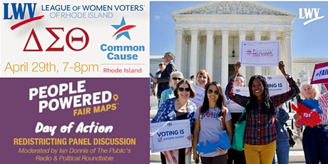 People Powered Fair Maps National Day of Action Redistricting Forum tickets
