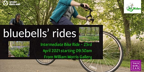 Intermediate led bike ride for women from Lloyd Park to Wanstead Park tickets