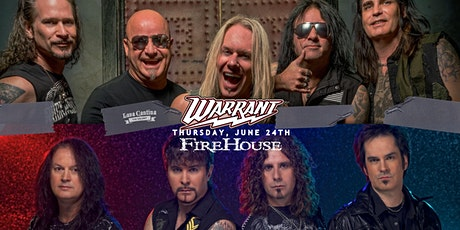 Warrant and Firehouse - Live at Lava Cantina The Colony tickets
