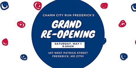 Charm City Run Frederick Grand Re-Opening Celebration tickets