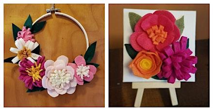 Felt Flower Art Workshop tickets
