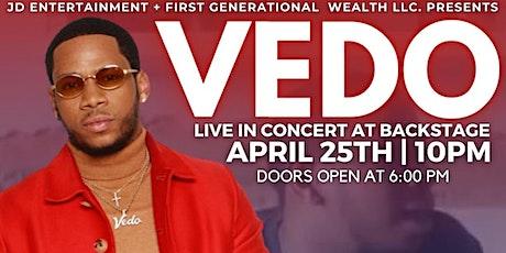 VEDO Live at Backstage Atlanta Feat. Bobbi Storm & Porter Shields tickets