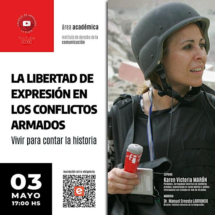 Imagen de La libertad de expresión en los conflictos armados