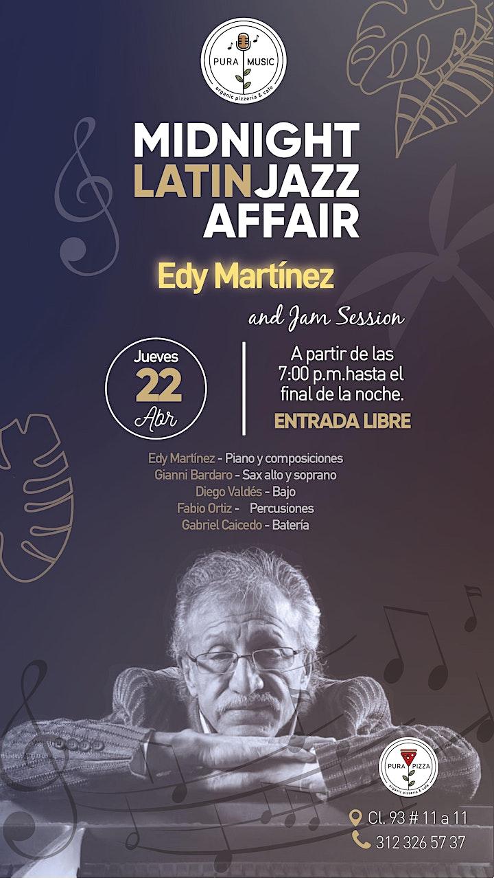 Imagen de MIDNIGHT LATIN JAZZ AFFAIR - EN VIVO EDY MARTÍNEZ