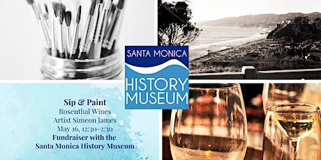 Paint & Sip Fundraiser with the Santa Monica History Museum tickets