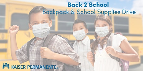 2021 ONE Riverside Backpack & School Supplies Drive tickets