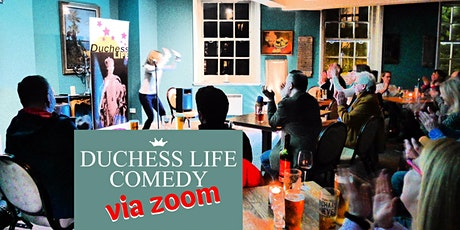 Duchess Zoom Comedy for H&F Covid Appeal tickets