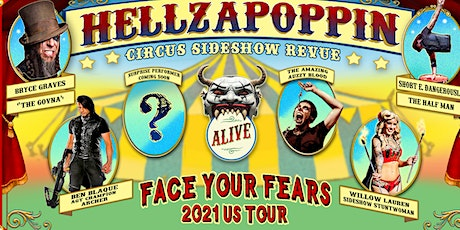 Hellzapoppin Circus Sideshow tickets