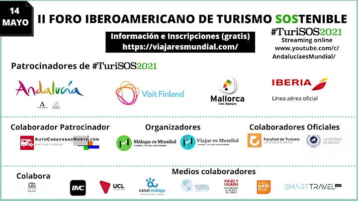 Imagen de II Foro Iberoamericano de Turismo SOStenible Internacional #TuriSOS 2021
