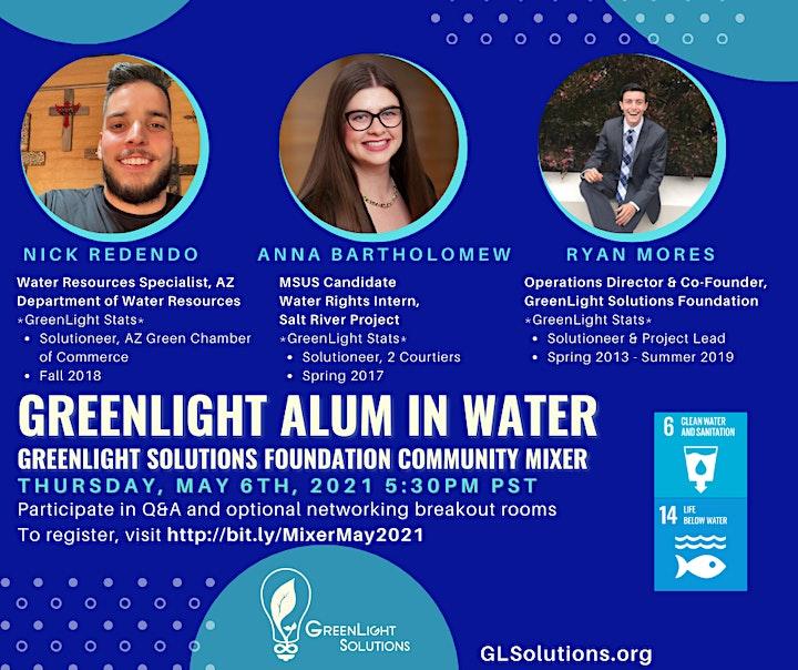 GreenLight Alum in Water Virtual Panel image