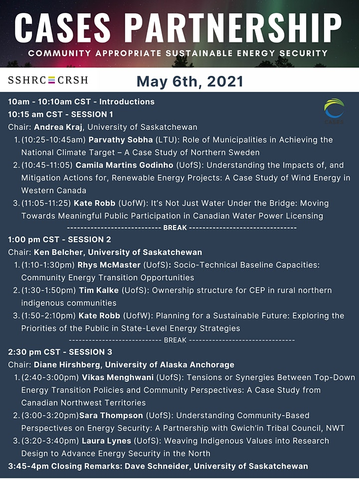 CASES Academic Conference May 5th & 6th image