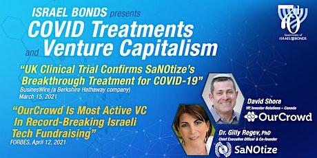 ISRAEL BONDS presents COVID Treatments and Venture Capitalism tickets
