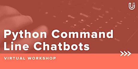 Python Command Line Chatbots [Free Virtual Workshop] entradas